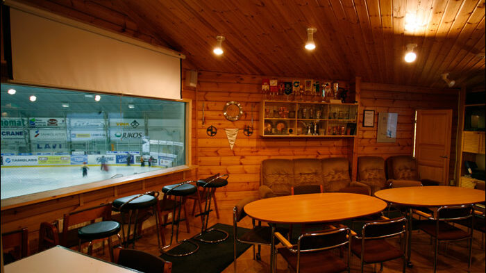 Lempäälän jäähallin kokoustilat, kuva